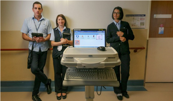 Calvary Health Care Nusing Staff using Vitro EMR