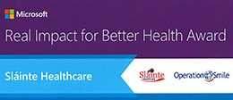 Microsoft Real Impact for Better Health Award 2014