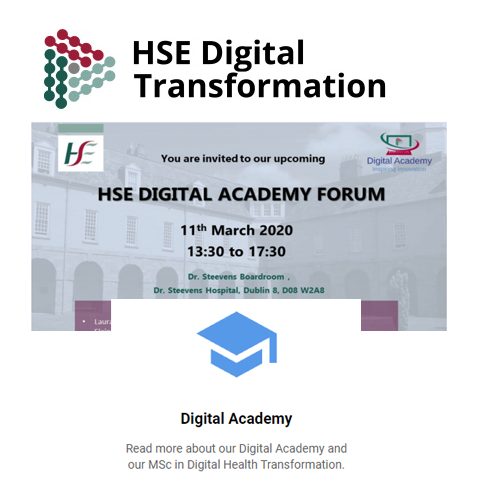 Dr Ruth Barnes included in speaker line-up at next HSE Digital Academy Forum